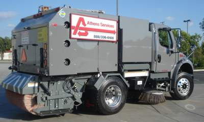 Athens Sweeping Services Vehicles