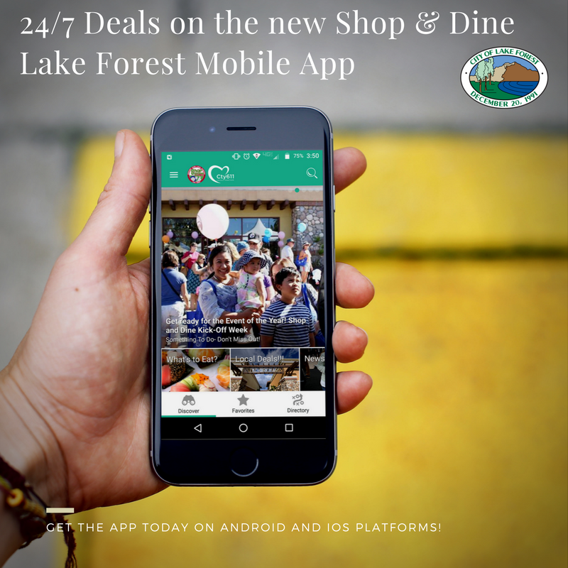 Shop and Dine Mobile App