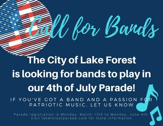 Call for Bands
