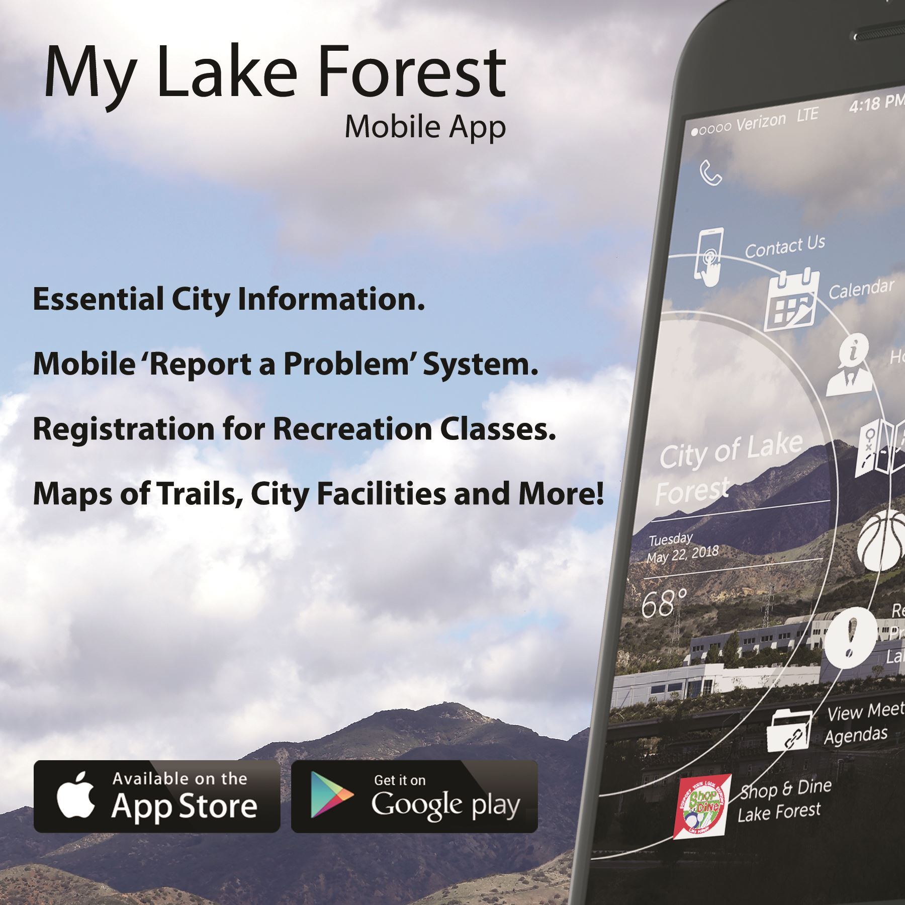 My Lake Forest Mobile App Now Available