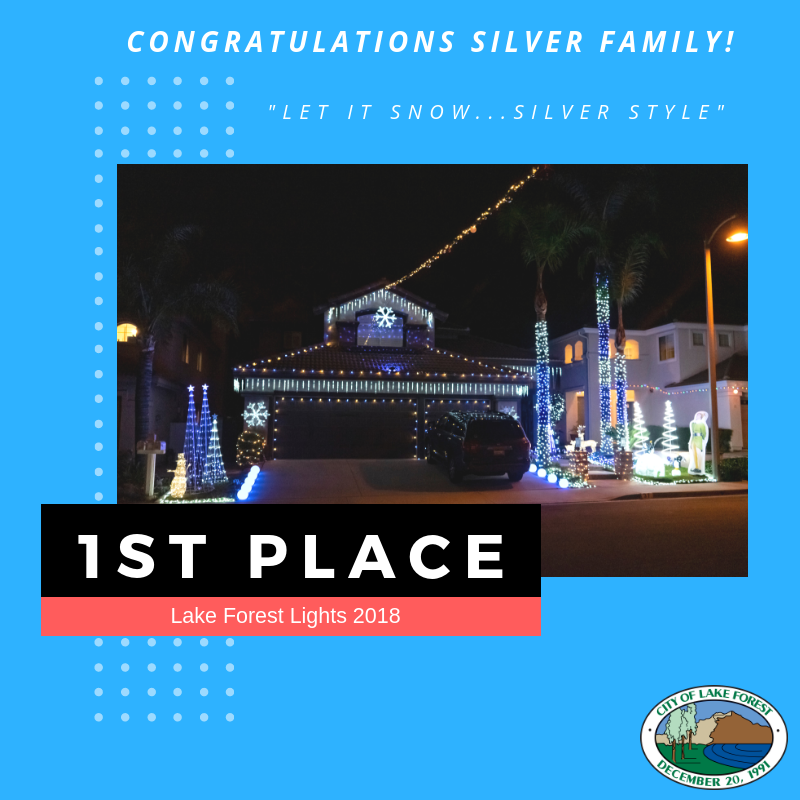 Congratulations Silver Family!