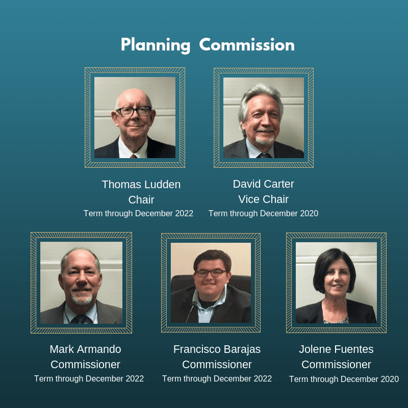 2019 Planning Commission