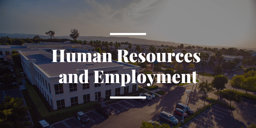 Human Resources and Employment
