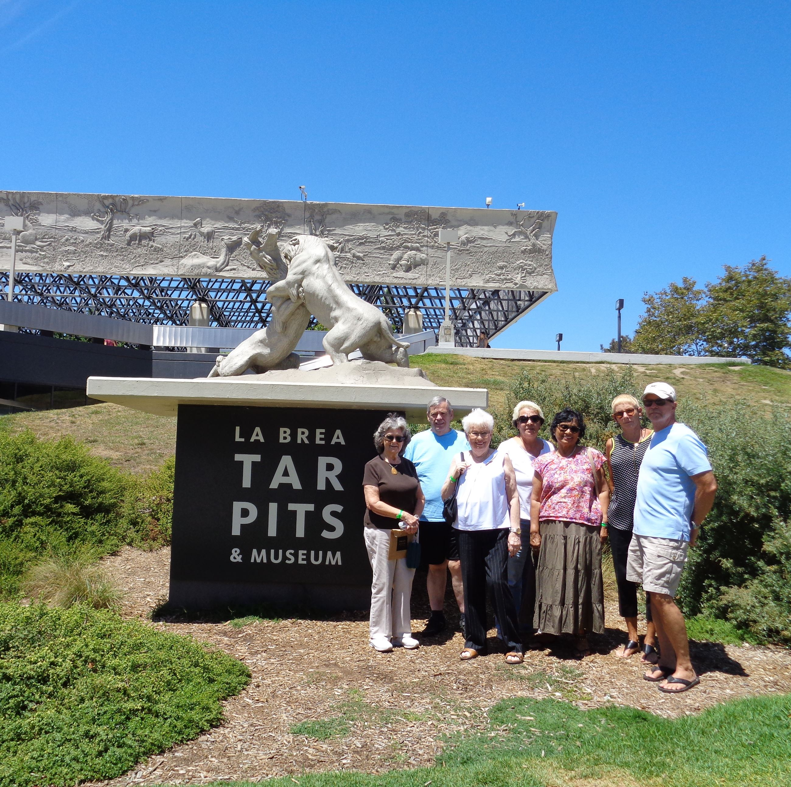 La Brea Tar Pits Excursion